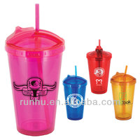 microwave safe insulated plastic coffee beer mugs promotional