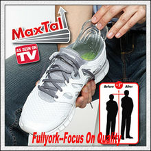 Btall Height Increasing Gel Insoles Shoe Secret As Seen On TV Maxtall Silicone Heel Lifts