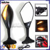 BJ-RM-016 For Yamaha YZF R3 R25 Motorcycle Motorbike Side Mirror LED Turn Signal