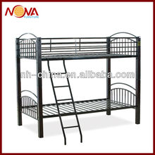 wooden poster queen size metal bunk bed frame