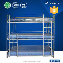 3 tiers fire engine bunk bed for kids from professional manufacture