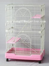 Manufacture two-layer villa steel wire cat cage