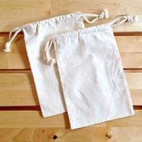 Custom Canvas Cotton Jewelry Bags
