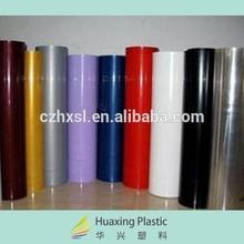 Mejor venta rígida lámina de plástico PVC rollo de película