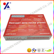 """alibaba china cardboard package for 7"""" tablet pc packing,top and base cardboard package ,customized logo and printing"""