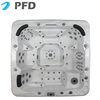 Factory price CE&SAA Approved Aristech Acrylic Outdoor Spa Tub , hot spa Tub