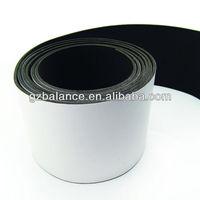 Neoprene adhesive backed foam rubber strip