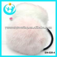2012 fashion faux fur ear warmer