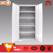 Office used double door storage cabinet steel locker