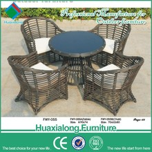 Outdoor furniture new design dinning room set dinning table and chair restaurant table set bkf butterfly chair FWY-055-3