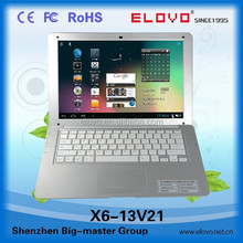 """expert factory 13.3""""Android netbook LCD super-bright screen netbook computer most competitive price 32GB SD card slot netbook"""