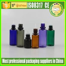 Factory price Hot sale long thin tip plastic dropper bottle 30ml pet plastic dropper bottles with CT cap