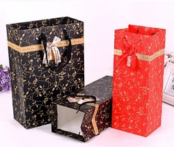 hot new products for 2015 wholesale legal high paper packing bag /fancy holiday gift bag