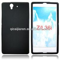 Cellphone silicon case for soney-er xperia z/l36i