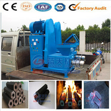 Top quality wood charcoal briquette wood charcoal making machine price