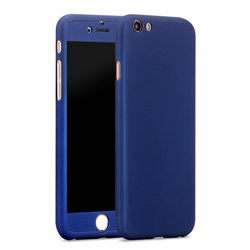 Shockproof full body protector case for iphone 6, for iphone 6 plastic hard 360 degree full cover case mobile phone case
