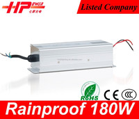 Attractive and durable power supply unit Rainproof Case smps 12v 180w ac to dc power supply