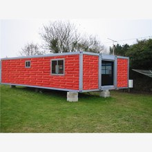seismic performance 8 magnitude earthquake new design steel section shipping container manufactured log homes