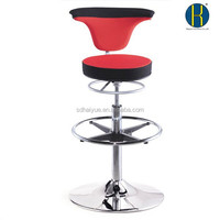 high end bar stools; reception stools with foot stools