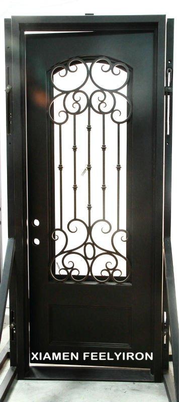 portes d 39 entr e en fer forg portes id du produit 595849036. Black Bedroom Furniture Sets. Home Design Ideas