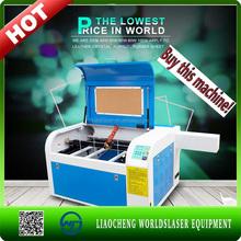 wood High Speed Rabbit CO2 600*400mm fabric laser cutting machine