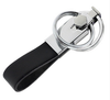 promotional genuine leather key chain by manufacturer