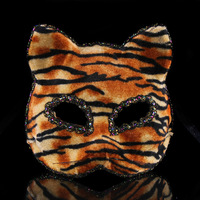 SL-110 Yiwu Caddy HOT SALE!!! Halloween Felt black cat mask for kids from supplier RUI YUAN