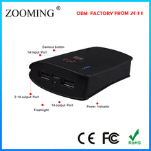 2 usb outports backup battery charger for travel/outdoor activities, high capacity portable power bank