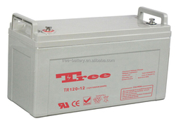3 years warranty 12v 120ah storage battery gel deep cycle