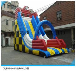 inflatable car tobogan inflable giant children slide