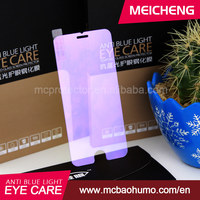 healthy eye care screen protector 2.5D anti impact anti blue light screen film for iphone 6 plus