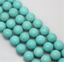 8mm round DIY Jewelry Accessories natural loose blue turquoise rough turquoise stone