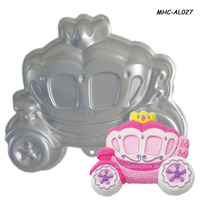 3D cargo shaped food use metal cake mould, aluminum baking mold, aluminum cake mold