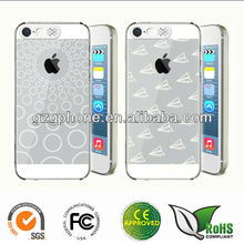 flash lighting clear case for apple iphone 5s