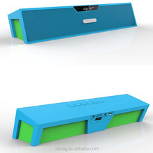 2015 Portable wireless magnetic bluetooth speakers with LED display/FM/TF/Hands-free