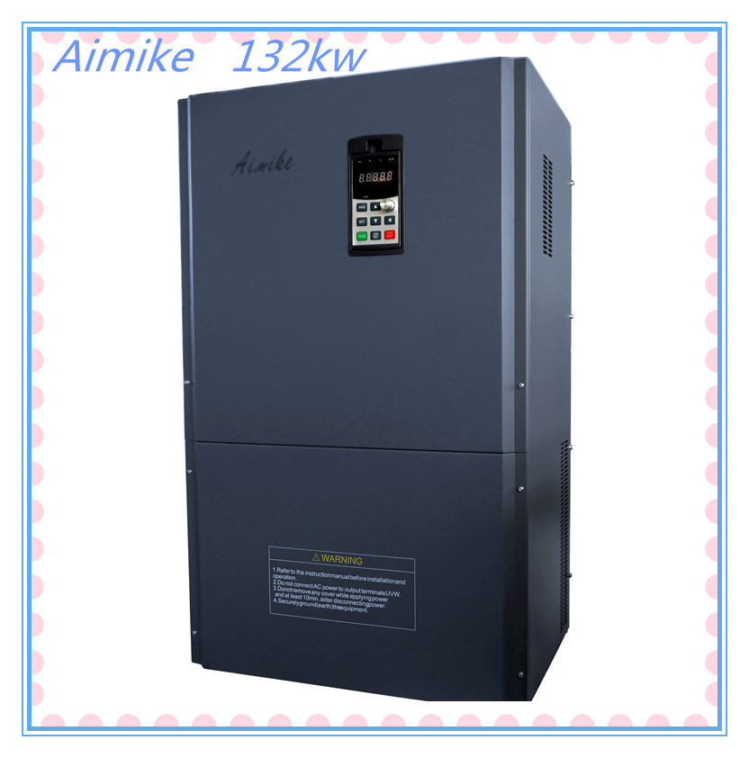 132kw Variable Frequency Ac Drives Three Phase Ac Motor