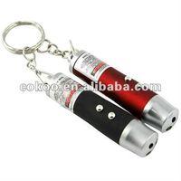 Laser+UV+Flashlight keychain Laser keychain keyring LP-204