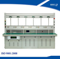 Three Phase Multi-function Electronic KWH Meter Test Bench 6 Position 120A