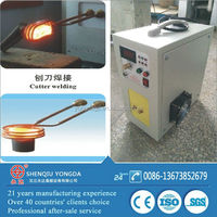 Portable induction braze welding machine