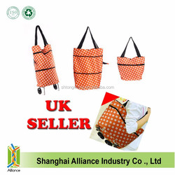 Cheap trolley bags Promotion duffel trolley travel luggage bags with wheels and trolley