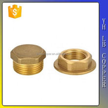 hex head reducing female brass bush