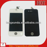 Hot selling top quality new for iphone 4g or 4s lcd digitizer glass touch screen low price wholesale