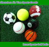 Novelty Golf Football Basketball Soccer Shaped Golf Balls