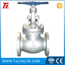 ansi125/150 flange type globe valve drawing good quality