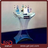 China supplier Makeup Mac Cosmetic Display Stand For Supermarket