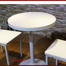 Direct factory factory price message coffee dining table