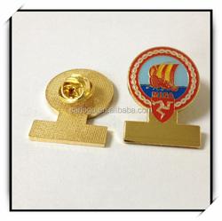manufacturer any shapes soft enamel custom metal badge pin
