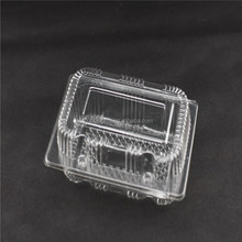 Clear fruit plastic clamshell packing box