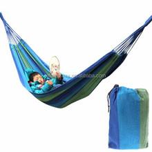 New product Portable Multicolor Camping Outdoor Thicken Canvas Hammock (Random Color Delivery)