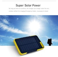 Dual usb output solar charger high Capacity solar phone charger for smartphone,Iphone,Ipad